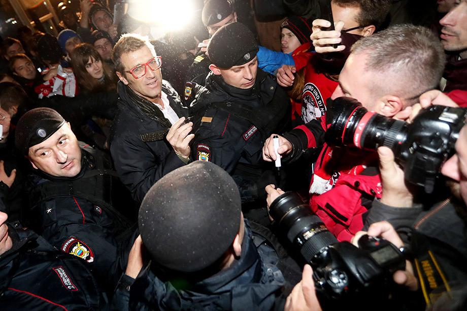 Прощальная пресс-конференция Массимо Карреры