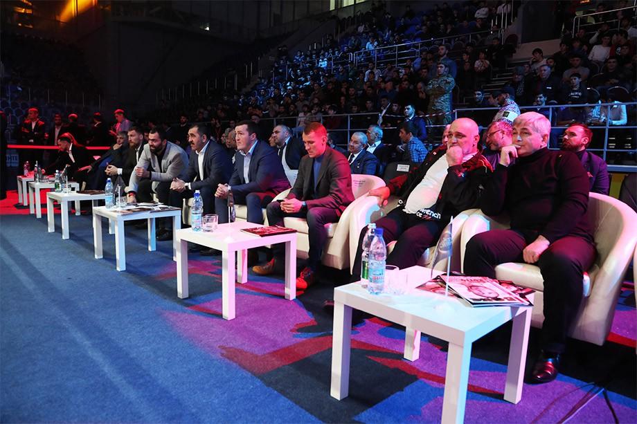 Ингушетия приняла первых в истории «Героев ринга»
