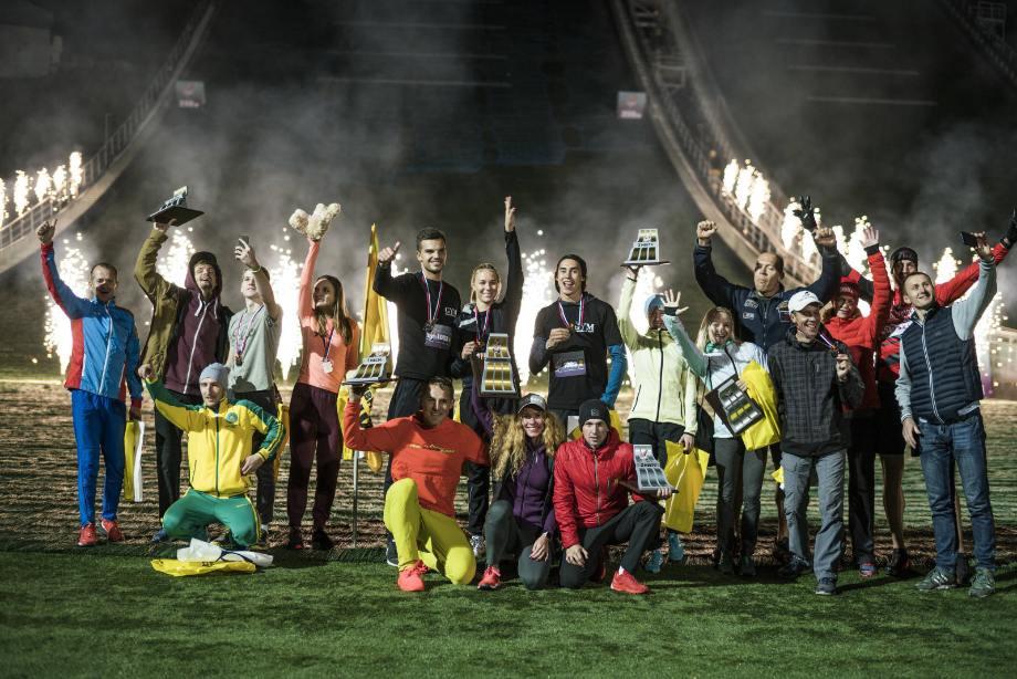 Победители и призёры этапа Red Bull 400 в Сочи