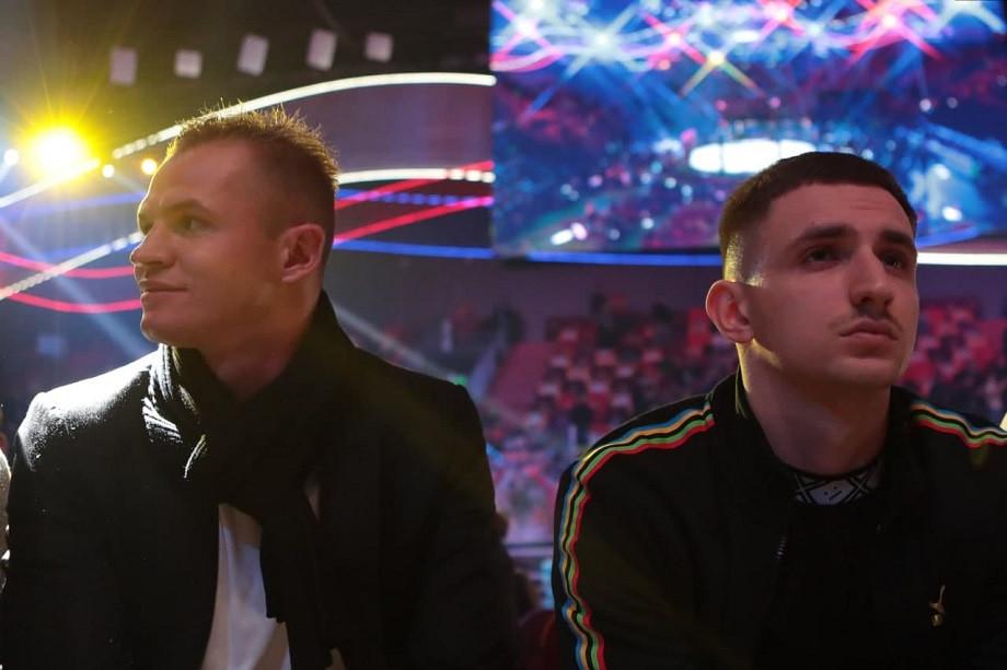 Дмитрий Тарасов и блогер Михаил Литвин