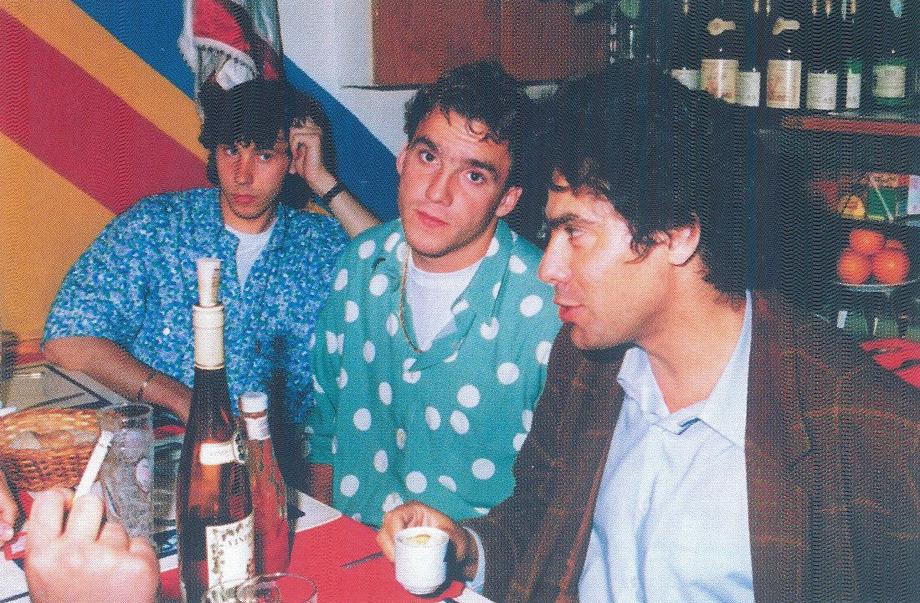 Александр Мостовой с Сергеем Юраном и Пауло Барбозой