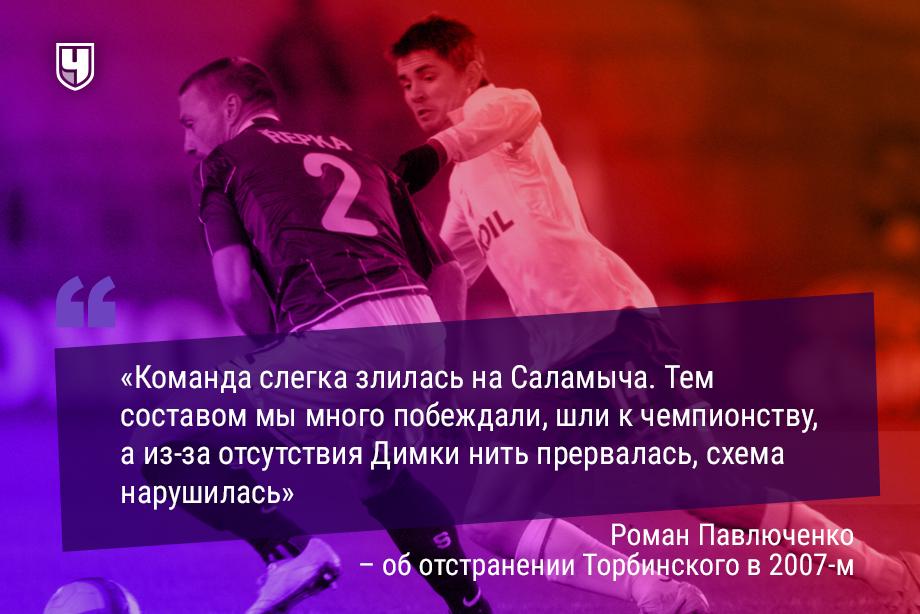 «Мы злились на Черчесова». Павлюченко – об отстранении Торбинского и суперматче с «Локо»