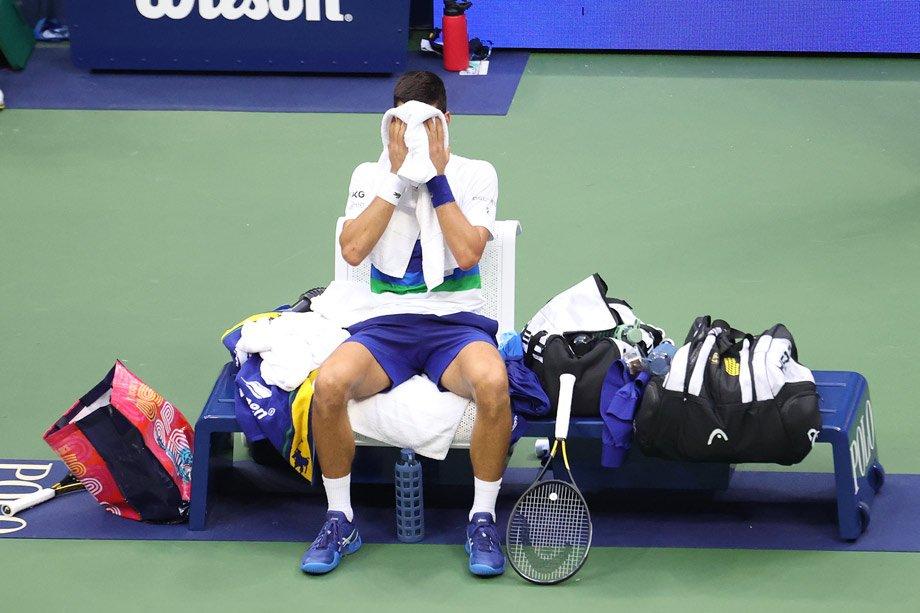 «Почувствовал облегчение. Рад, что этот поход закончен». Эмоции Джоковича после US Open
