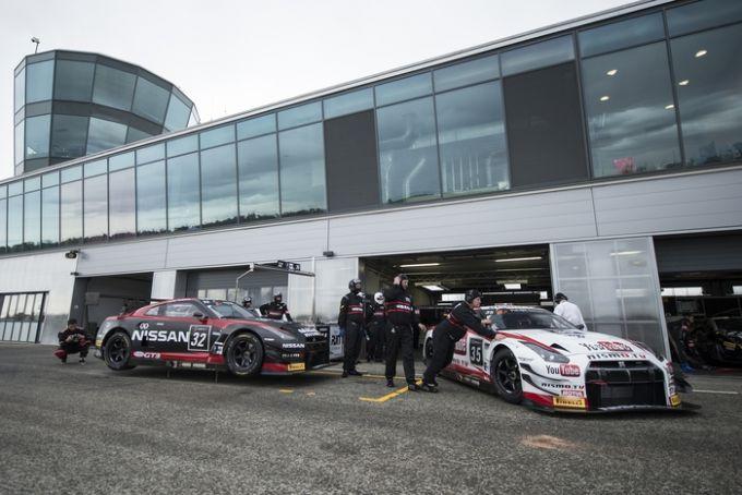 Этап FIA GT в Ногаро