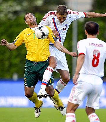 29.05.2012. Литва — Россия — 0:0