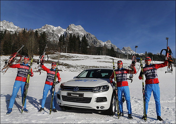 Марка Volkswagen – партнер Союза биатлонистов России