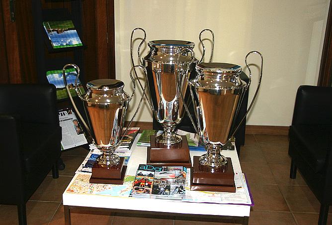 """Кубки, которые получат победитель и призёры """"Marbella cup"""""""
