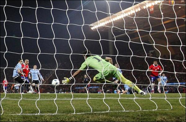 Кубок Америки. Группа С. 2-й тур. 9 июля. Уругвай – Чили 1:1.