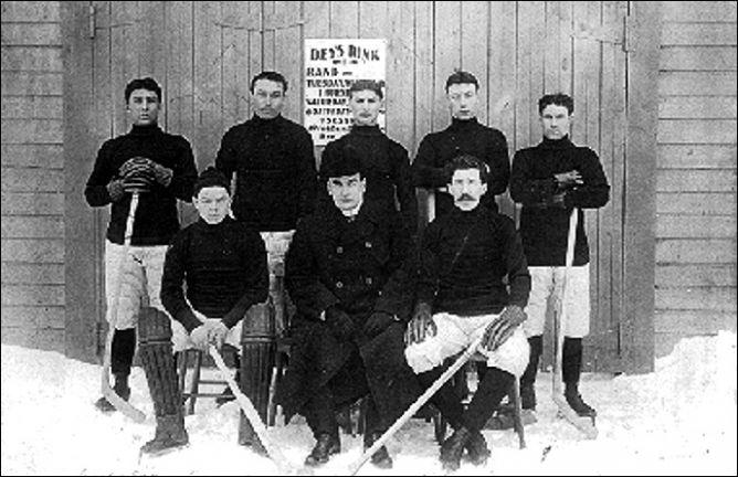 """История Кубка Стэнли. Сезон 1904/05. """"Dawson City Nuggets""""."""