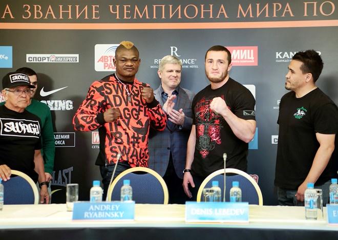 Йоури Каленга и Денис Лебедев