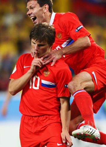 Андрей Аршавин стал главным героем четвертьфинального матча с Голландией