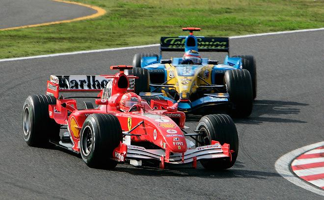 Сезон-2005 принёс Шумахеру лишь одну победу