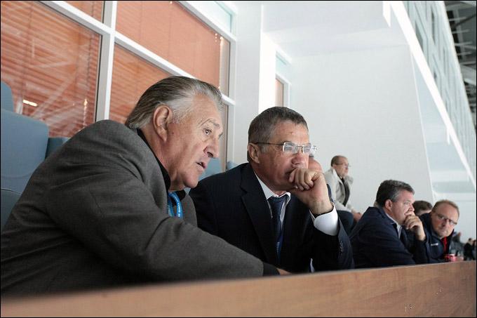 Фил Эспозито и Александр Медведев
