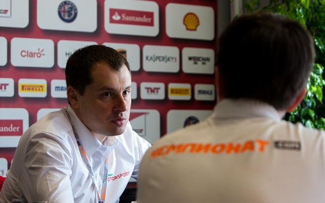 Александр Моисеев даёт интервью «Чемпионату»