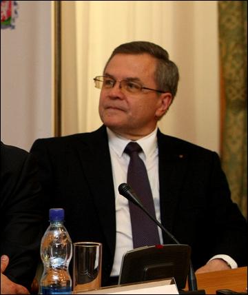Вице-президент КХЛ Владимир Шалаев