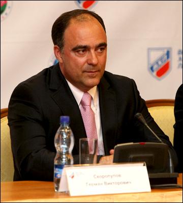 Управляющий директор ВХЛ Герман Скоропупов