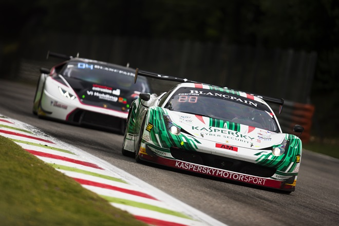 Kaspersky Motorsport в серии Blancpain