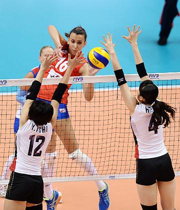 """Волейбол. """"Финал шести"""" Гран-при. Япония — Сербия — 0:3"""