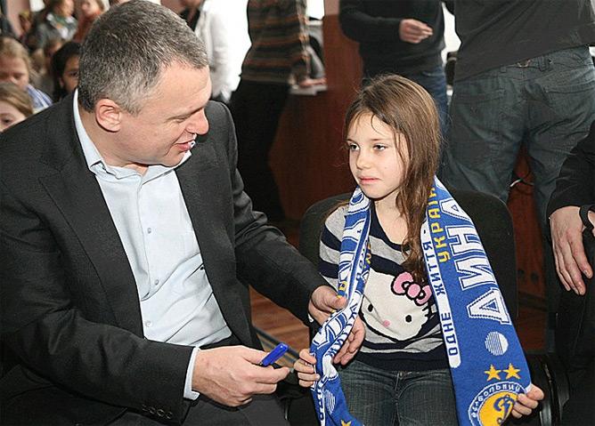 """Президент """"Динамо"""" с дочкой Яной"""