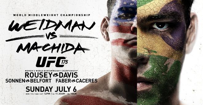 Постер к турниру UFC 175