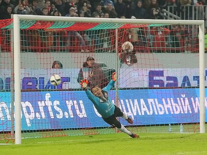 «Рубин» уступил «Локомотиву» в серии пенальти