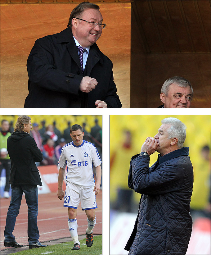 Сергей Степашин, Игорь Семшов и Сергей Силкин