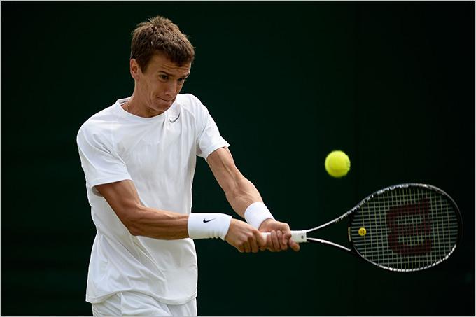 Кузнецов пробился в четвертьфинал Загреба