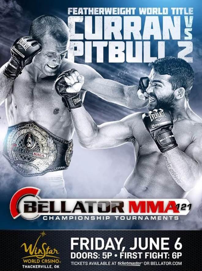 Постер к турниру Bellator 121