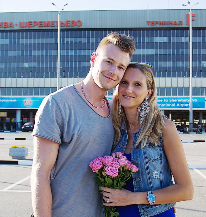 Иван Зайцев с супругой переехал в Москву