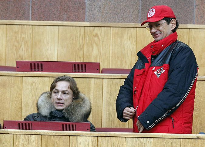 Валерий Карпин и Леонид Федун