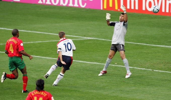 Евро-2004. Португалия – Англия. Майкл Оуэн