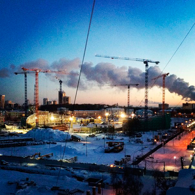«Екатеринбург Арена», Екатеринбург