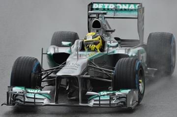 """Мерседес F1 W04"""