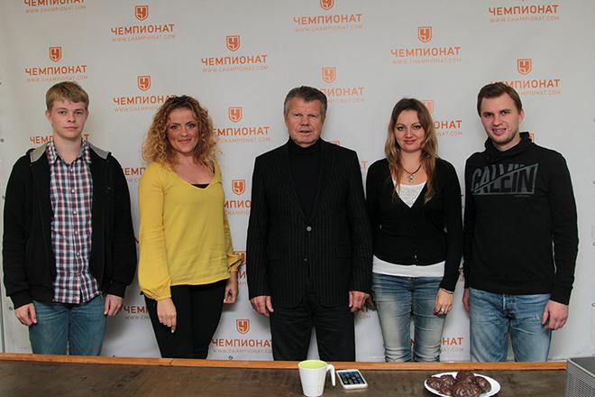 Пётр Воробьёв в редакции «Чемпионата»
