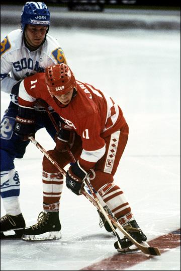 Игорь Ларионов в сборной СССР, 1982 год