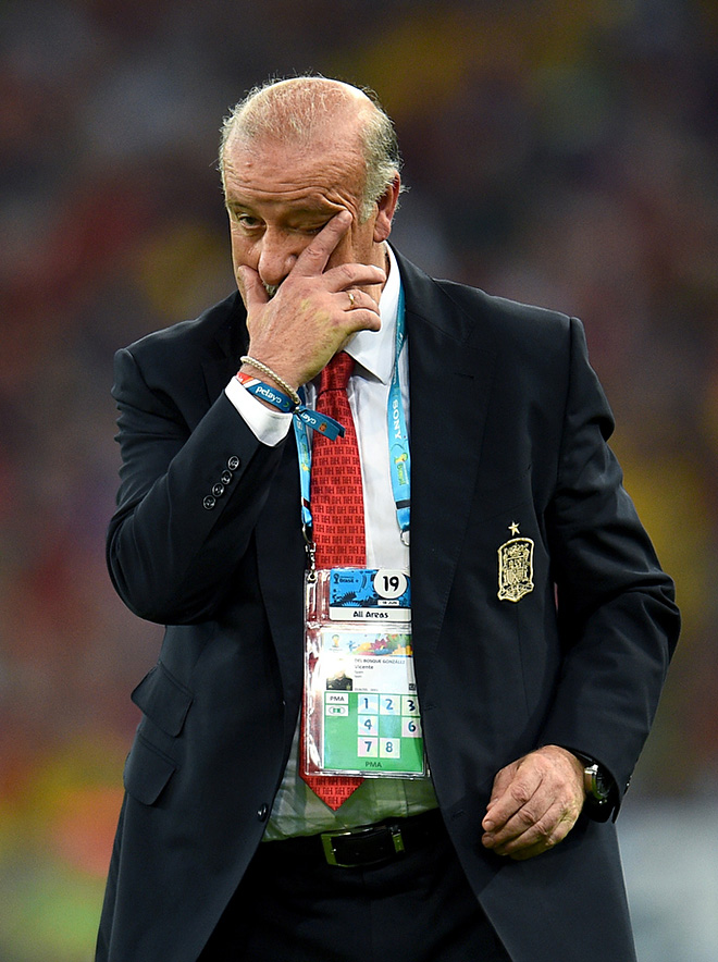После поражения от Чили Висенте дель Боске заявил, что его команда заслужила вылет