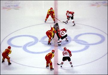 Первый матч женских хоккейных команд в истории Олимпиад. Нагано-1998. Канада — Китай