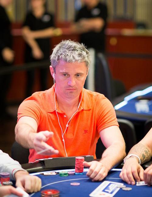 Алексей Билокур уверенно держится на третьем месте