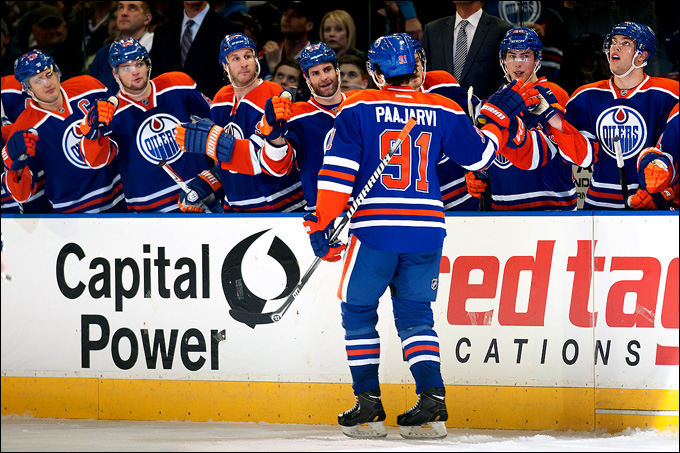 """Как дела, НХЛ? """"Эдмонтон Ойлерз"""". Магнус Пяаярви"""
