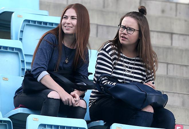 На матче ЦСКА — «Терек»