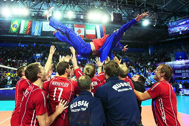 История побед сборной России в Мировой лиге