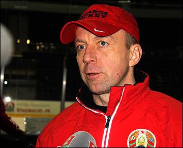 Главный тренер сборной Белоруссии Андрей Скабелка