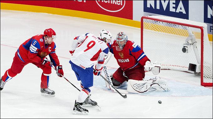 Семён Варламов против сборной Норвегии