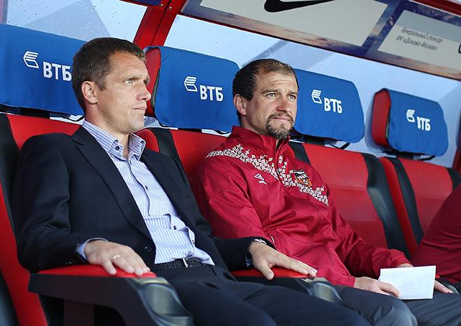 Виктор Гончаренко и Вадим Скрипченко