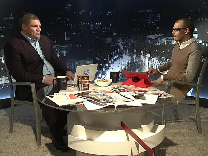 Андрей Коваленко и Роман Чернявский