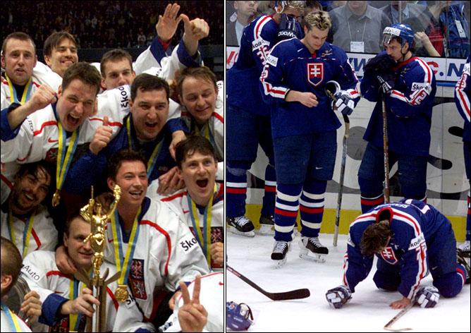 Топ-100 историй ИИХФ. История 77. Финал ЧМ-2000: Чехия против Словакии. Фото 02.