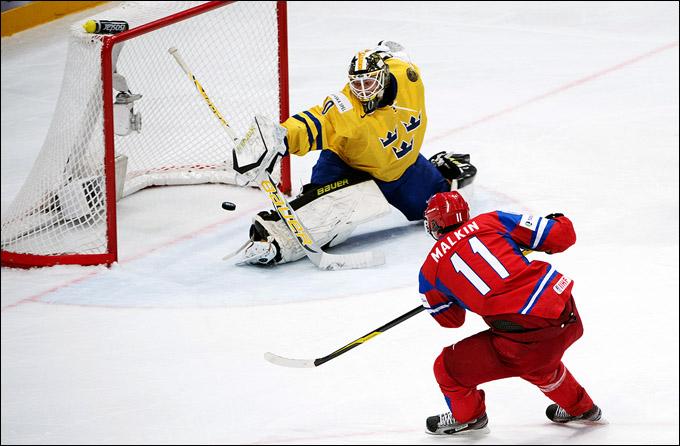 11 мая 2012 года. Стокгольм. Чемпионат мира. Групповой турнир. Россия — Швеция — 7:3