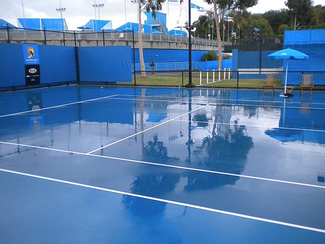 Очень похоже, что Мельбурн замер на целый год, до Australian Open — 2013