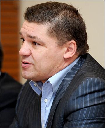 Председатель профсоюза игроков и тренеров КХЛ Андрей Коваленко