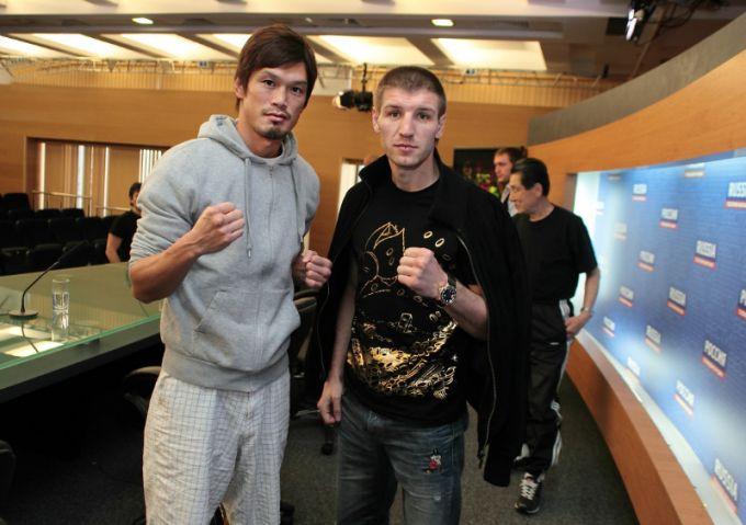 Нобухиро Исида и Дмитрий Пирог